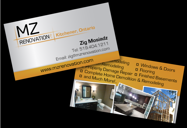 Business cards renovation images card design and card template mac graphic design services kw kitchener waterloo wasaga business cards reheart images colourmoves